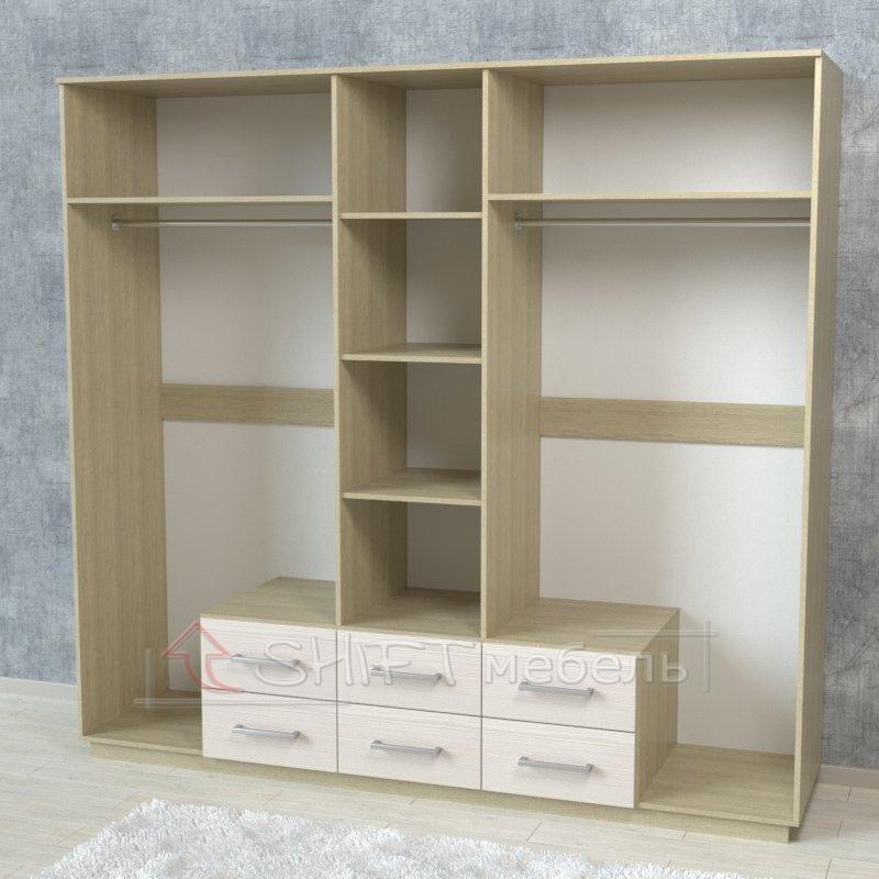 Шкаф 5-ти дверный распашной арт.07001